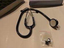 Rettungsdienst Stethoskop Stetoskop Doppelkopf Premium Dunkelblau Dark Blue