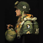 1-10-101st-Airborne-Division-World-War-II-rubber-figure-bust-uncoated-without thumbnail 3
