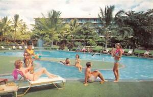 KAANAPALI-MAUI-HI-1975-Hot-Action-Pool-Area-Kaanapali-Beach-Hotel-GEM-479