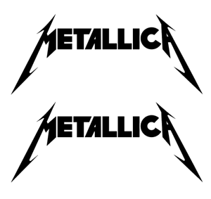 Free shipping Die Cut Metallica DECALS QTY BUY 1 GET 2
