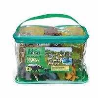 Animal Planet Toys Playset Mother & Baby Safari Play Set With Storage Bag