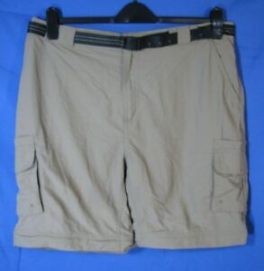 9f835cc9f1 Image is loading MAGELLAN-Outdoors-FISHING-GEAR-Cargo-SHORTS-Black-BELTED-