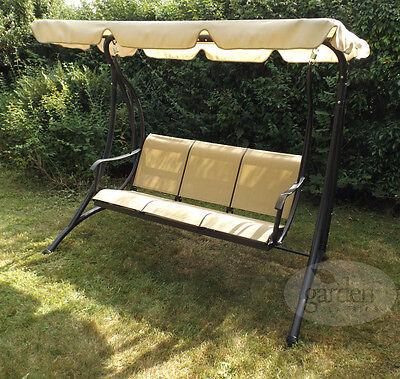 3 Seater Swing Seat Bench, Garden Classics Patio Furniture