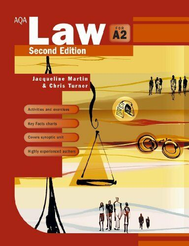 1 of 1 - AQA Law for A2 By Jacqueline Martin