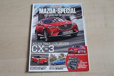 164182) Mazda Cx-3 - Mx-5 - Mazda 2 - Autozeitung Spezial 2014 Einfach Zu Schmieren