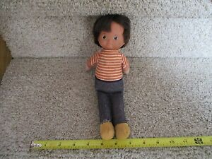 Vintage FISHER PRICE Doll Plush toy 240 Mikey baby Boy 10 inch 1978 nice dude