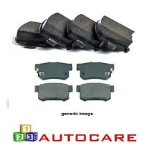 Front And Rear Brake Pads For Nissan Qashqai Qashqai + 2 2007-2011