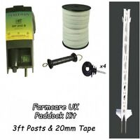 Electric Fencing / Fence Green Paddock Kit