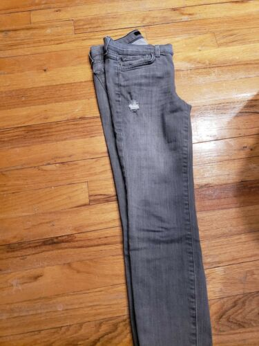 26 En Brand Jeans Sz Gris Difficulté J wAUaxBqCB
