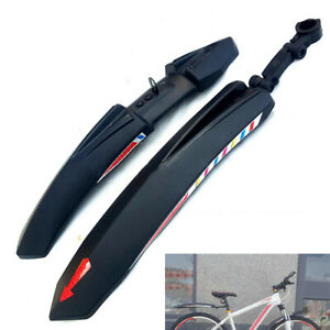 2Pcs Mountain Bike Bicycle Cycling Road Tire Rear Mudguard Fenders Set Mud Guard