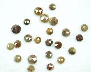 1-01ct-Natural-Rose-cut-Loose-Diamond-Mix-color-Rose-Diamond-Chakri-4-0-5-0MM-05