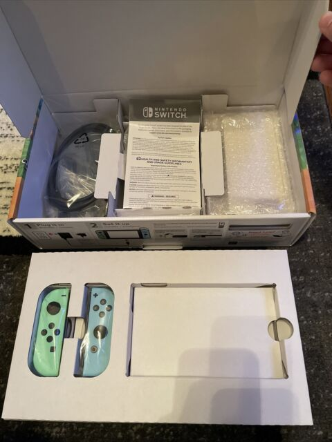 Nintendo Switch Animal Crossing Special Edition (NO CONSOLE/TABLET) mint