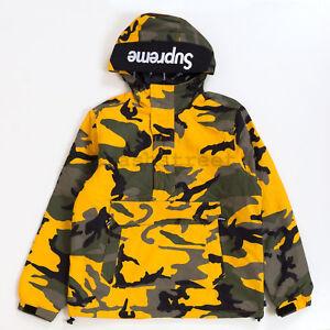 Supreme FW17 Hooded Logo Half Zip Pullover logo jacket box coat cap ... 2825f09fa