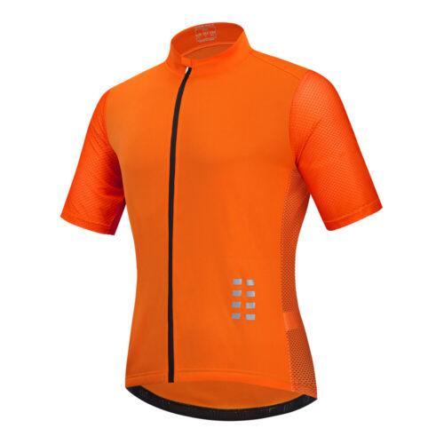 Men/'s Short Sleeve Cycling Jerseys Cycle Bike Shirt Quick Dry Biking Riding Tops