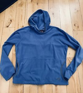 c92ed8793 Details about The North Face Women's Fleece 1/4 Zip Pullover Jacket Blue  Medium M Northface