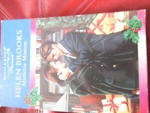 Mistletoe-Mistress-Helen-Brooks-by-Mills-amp-Boon-Paperback