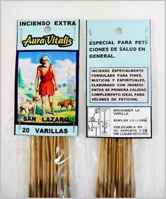 Esoteric Incense 20 Varillas//Sticks San Alejo Incienso Esotérico