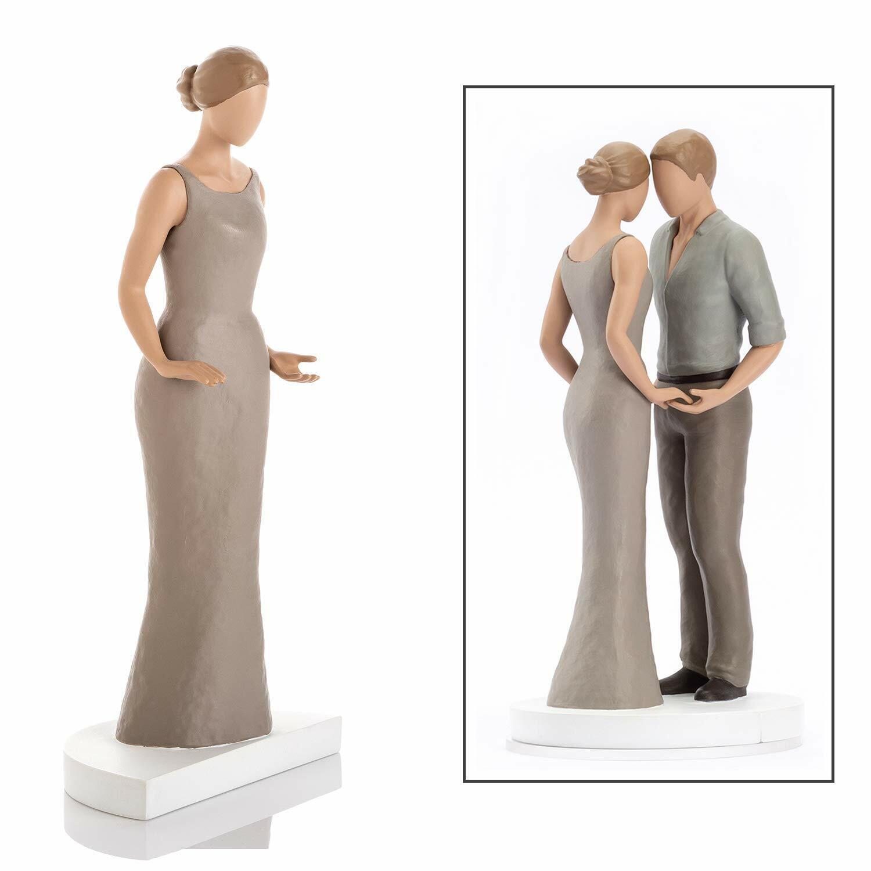 PREMIUM Artisan Wedding Toppers Groom Bride Gay Dark Mid Light Skin Mix n Match