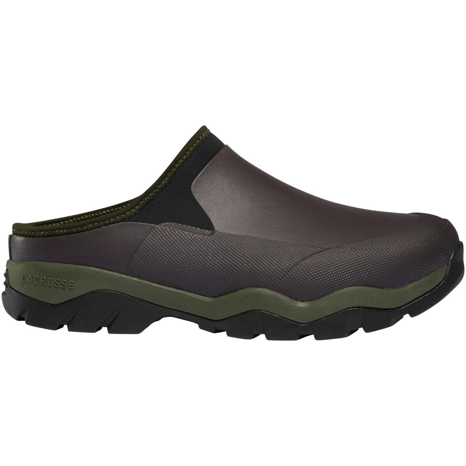 Homme Lacrosse 612421 1  Alpha Muddy mule marron vert bottes chaussures de marche