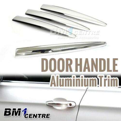 4x BMW CHROME DOOR HANDLE ALUMINIUM TRIMS FOR E82 E88 E90 F30 X3 F25 X5 X6