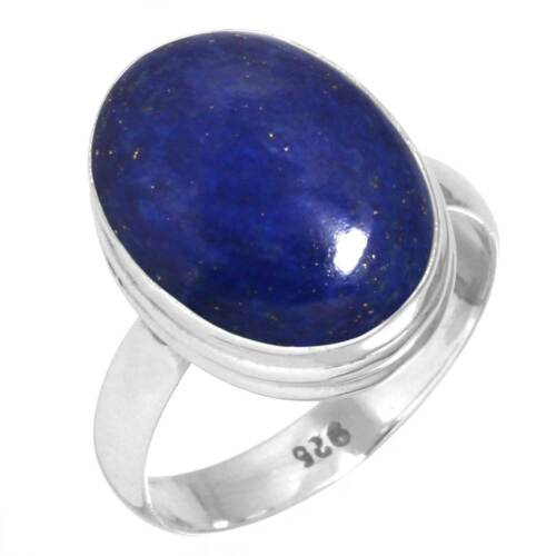925 Sterling Silver Gemstone Ring Handmade Jewelry Size 5 6 7 8 9 10 11 12 ll816