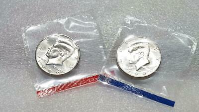 1972 P Kennedy Half Dollar 50c Uncirculated BU in OGP Mint Set Cellophane