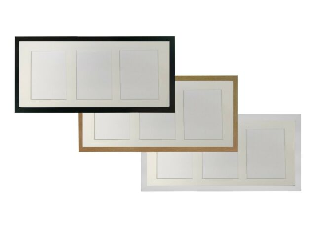 White Picture Photo Frames With Mount for Various Multi Images ...