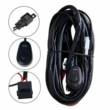 3M 10ft 12V 40A Wiring Harness Kit for LED Light Bar Fuse Relay ON / OFF Switch