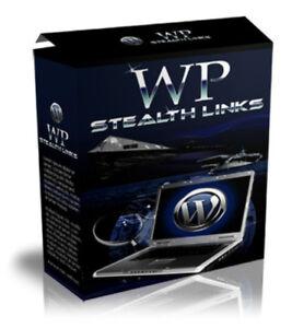 Word Press Stealth Links - wandelt Affiliates Links um - Master Reseller Lizenz