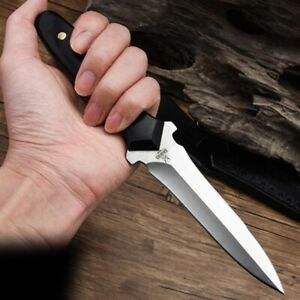 Vintage Style Tactical Survival Fixed Dagger Knife Blade Pocket Hunting Knives