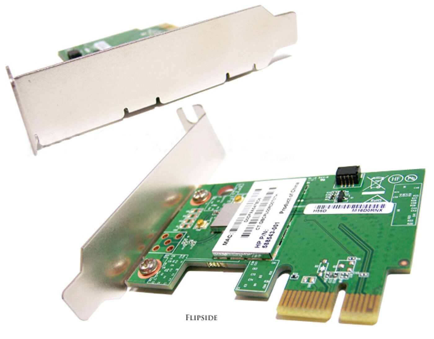 HP Skylark PCIe Low Profile Wifi Card NEW 588543-001 620061-ZH1 / WN7601R-H1
