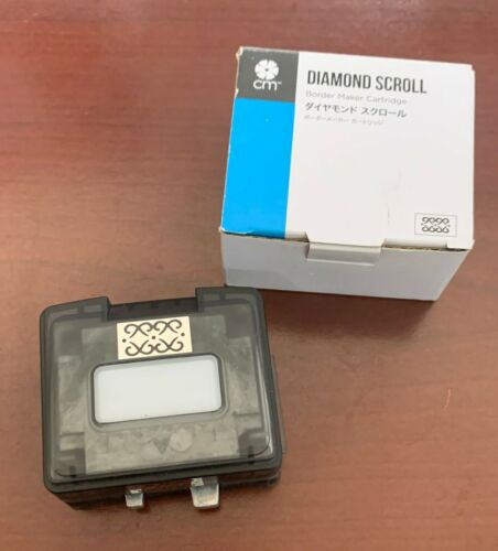 Rare Creative Memories DIAMOND SCROLL Border Maker Cartridge Punch Scrapbook NEW