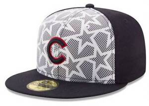 8fea1c07585 Official MLB 2016 Chicago Cubs July 4th New Era 59FIFTY Fitted Hat ...