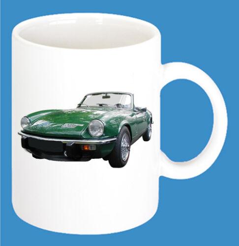 Triumph Auto Modelle Kaffee Tasse Car 300ml Keramik Becher mit Motiv