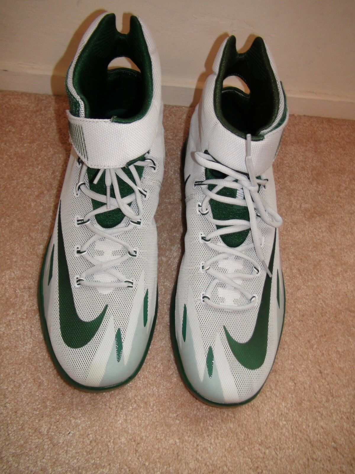 Nike Zoom HyperRev Kyrie Erving 643301-003 Promo Sample Michigan State 13.5 NEW