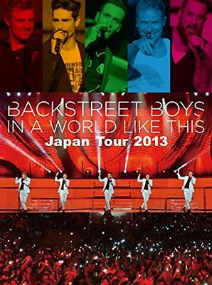 NEW BACKSTREET BOYS IN A WORLD LIKE THIS JAPAN TOUR 2013 JAPAN DVD