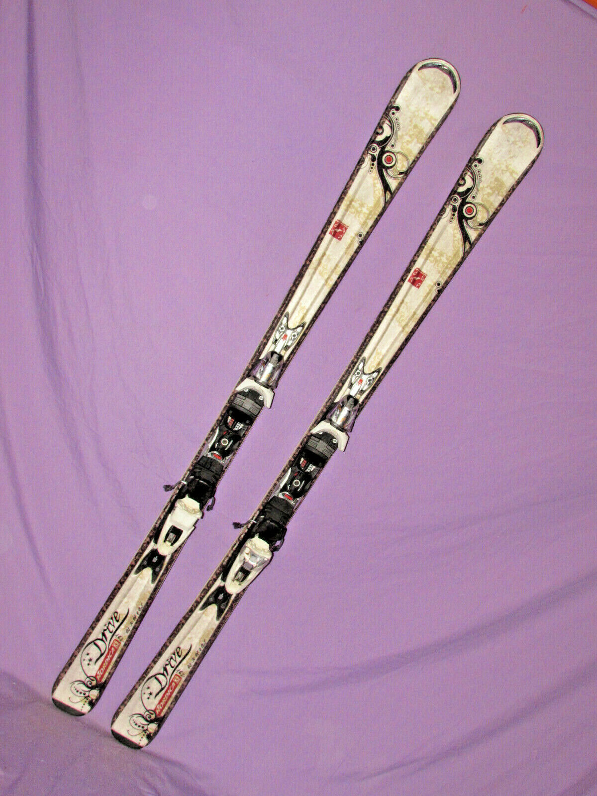 Nordica DRIVE women's skis 162cm w   Nordica N Sport XBi CT adjustable bindings   online