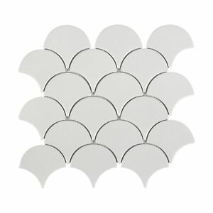 Modern-Circular-White-Porcelain-Mosaic-Tile-Backsplash-Kitchen-Wall-MTO0341