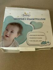 Mimos S-SIZE Baby Pillow Flat Head Air Flow 1-10 months 36 and 46cm Before XL
