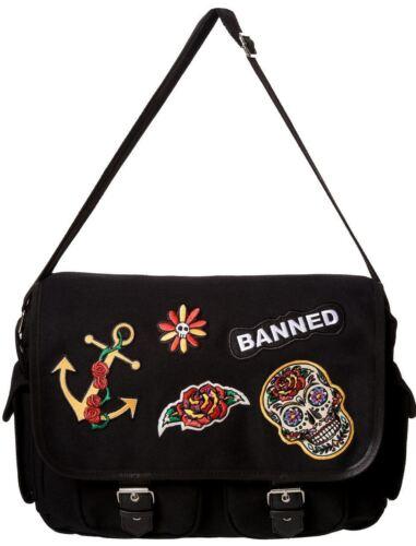 De Habillement Banned Mort Tête Rockabilly Amulette Calavera wIwfxdq8P