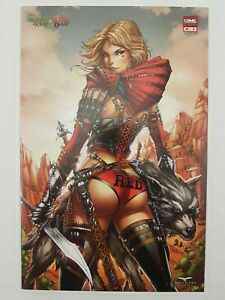 Zenescope-Grimm-Fairy-Tales-Robyn-Hood-Vs-Red-Riding-Hood-1-C2E2-Exclusive-NM