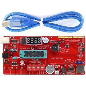 OPEN-SMART Reich UNO R3 Atmega328P Entwicklung Tafel Modul Kit für Arduino GE
