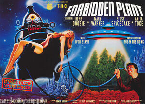 POSTER-FANTASY-COMICAL-FORBIDDEN-PLANET-FREE-SHIPPING-PP0235-LW2-K