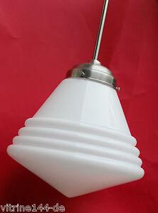 BAUHAUS Pendelleuchte Design 1930 Deckenlampe Messing Ø 27cm