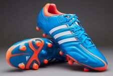 cheap for discount 71e5d 883a3 ADIDAS ADIPURE 11PRO TRX FG SOCCER CLEATS US Mens 5.5 BLUE ORANGE WHITE