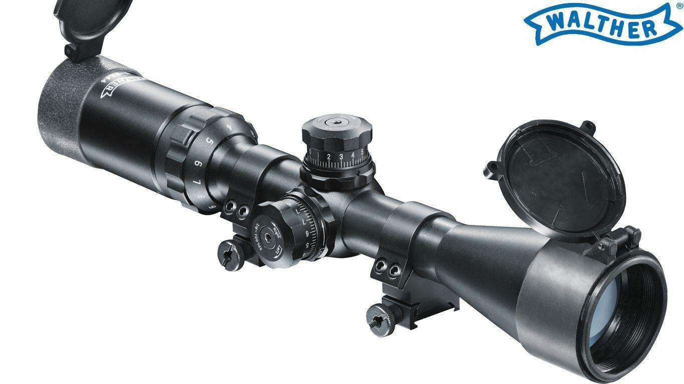 Mira Para Rifle 3-9X44 Sniper Walther 2.1532