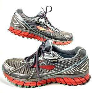 b153f6f116b Brooks Women 11 Men 9.5 Adrenaline GTX 12 Trail Running Shoes Grey ...