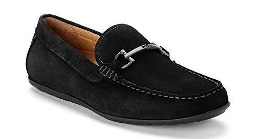 Vionic Mens Mercer Mason Driving Moccasins  Leather Suede Loafer