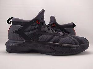 c83305f39e0a Adidas Men s D Lillard 2 Basketball Shoes sz 10 (B42355) Black Red ...