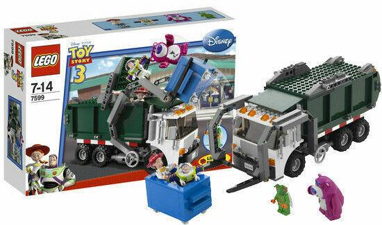 NEUF & RARE - Evasion de Buzz & Jessie du Camion Poubelle - LEGO Toys Story 7599